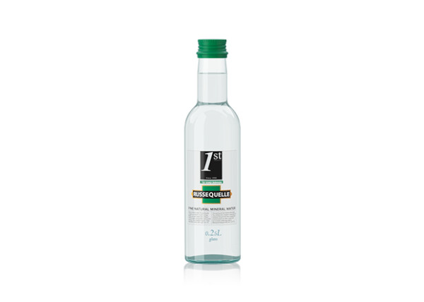 Spring Mineral Water RusseQuelle, Still, bottle 0.25 L