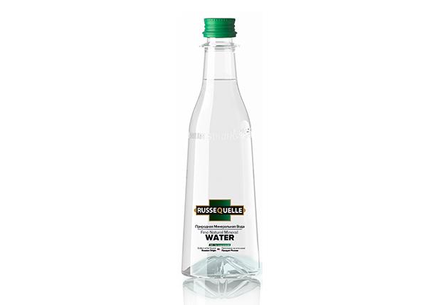 Spring Mineral Water RusseQuelle, Sparkling, PET, bottle 400 ml