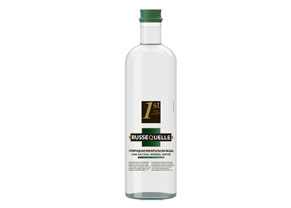 Spring Mineral Water RusseQuelle, Still,Glass, bottle 500 ml