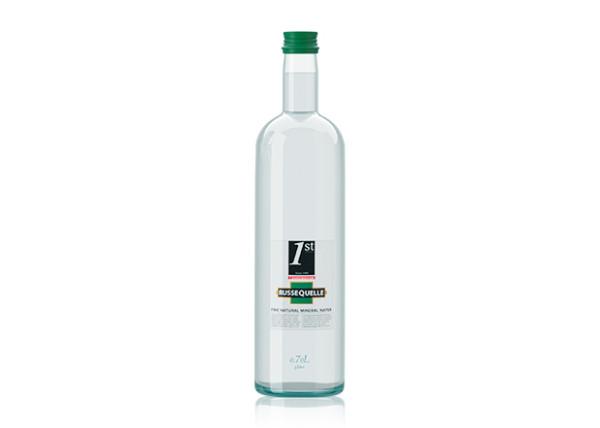 Spring Mineral Water RusseQuelle, Sparkling, bottle 0.7 L