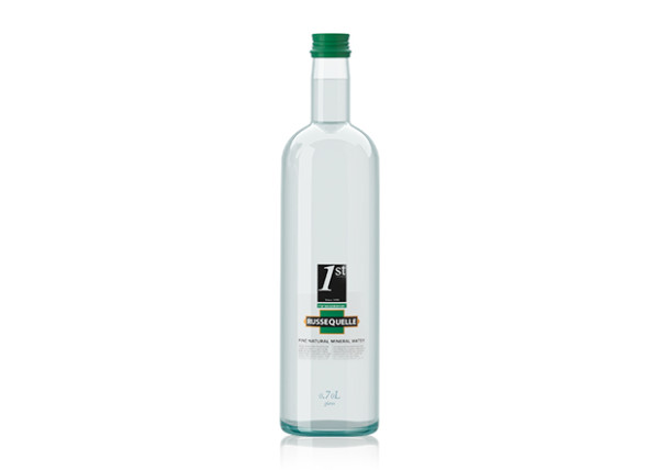 Spring Mineral Water RusseQuelle, still, bottle 0.7 L