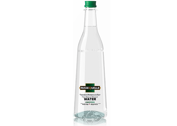 Spring Mineral Water RusseQuelle, Still, PET, bottle 800 ml