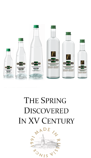 RusseQuelle - First premium mineral water in Russia