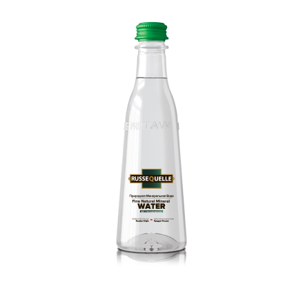 Spring Mineral Water RusseQuelle, Sparkling, PET, bottle 400 ml